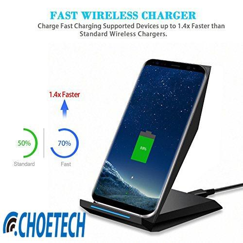 Best Buy Choetech Latest Qi Wireless Charger Stand For Mobiles