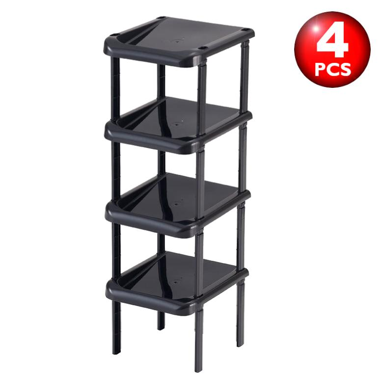 [Japan] Joint Shoes Rack Set of 4 Tier / Made in Japan