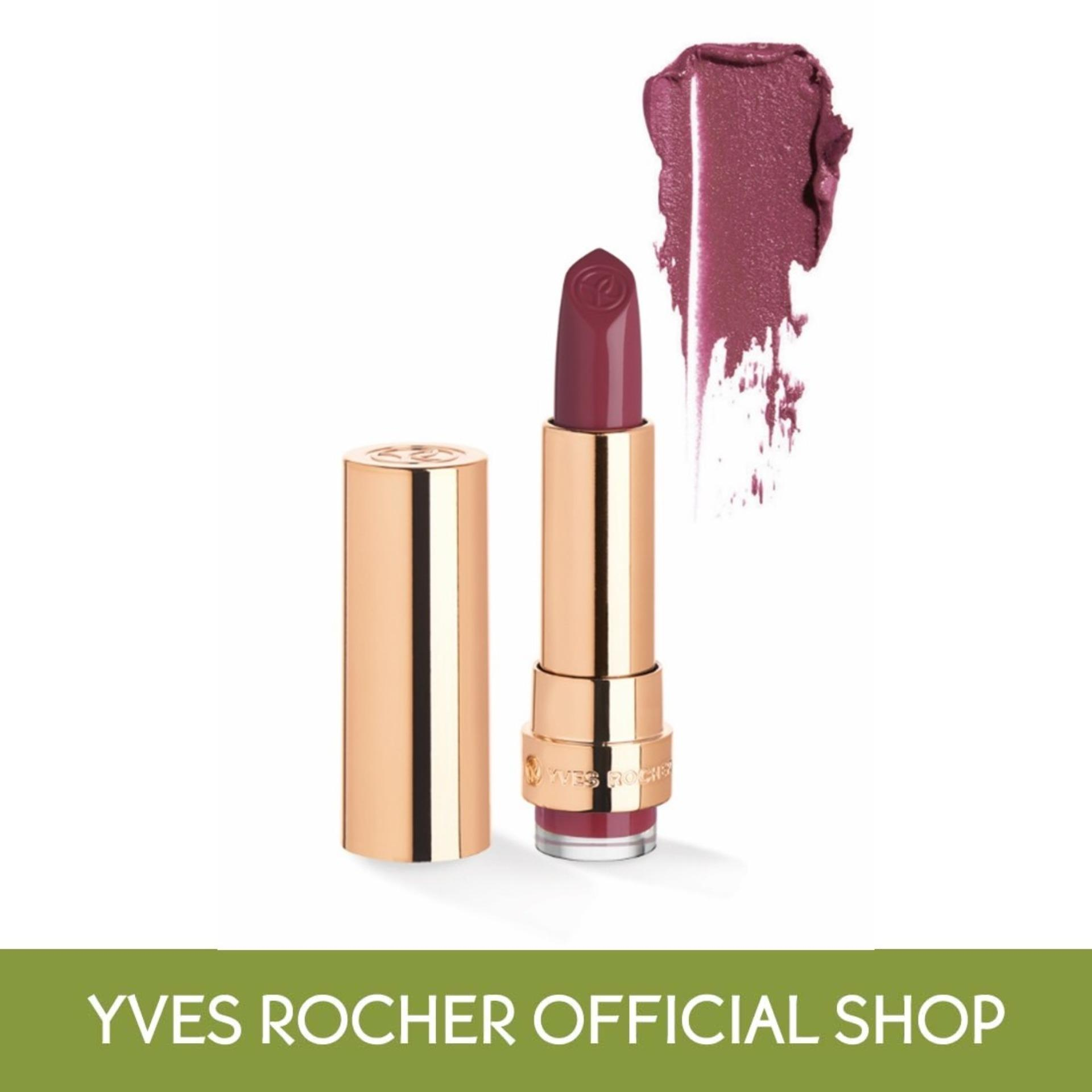 Yves Rocher Grand Rouge Lipstick 107 Satin (tf) By Yves Rocher Singapore (capitaland Merchant).