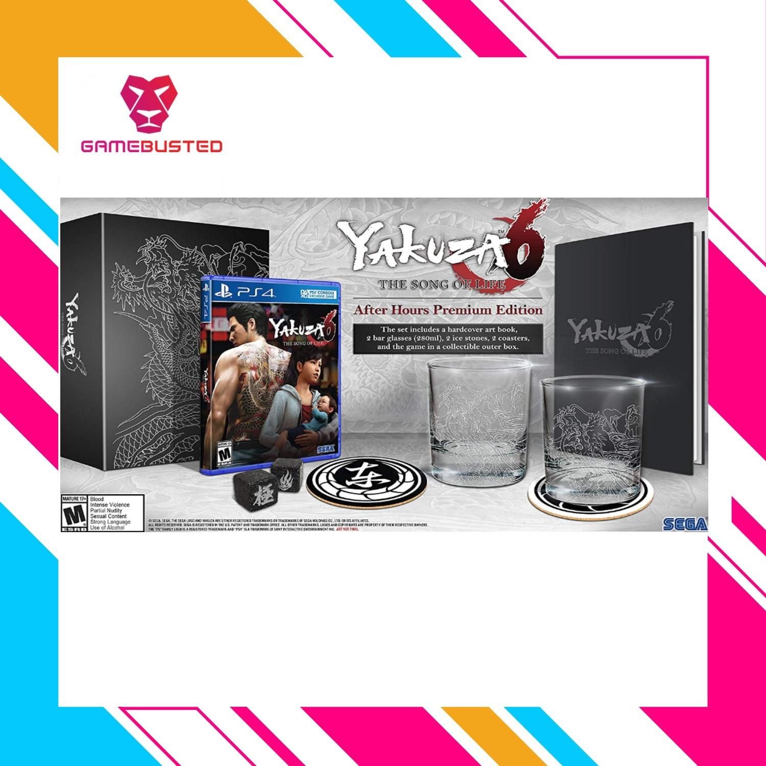 Buy Sell Cheapest Yakuza 6 Best Quality Product Deals Singapore Sony Ps4 0 Zero R1 The Song Of Life After Hour Premium Edition All