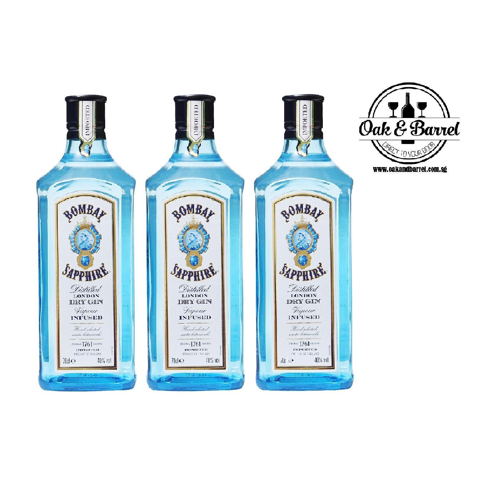 Bombay Sapphire Gin 750Ml X 3 Bottles Deal