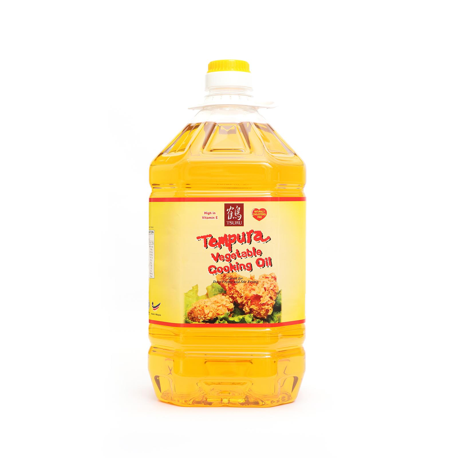 Tsuru Tempura Vegetable Cooking Oil 5l By The Rice Shop.