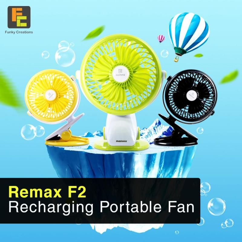 Remax F2 Portable Rechargeable Fan Singapore
