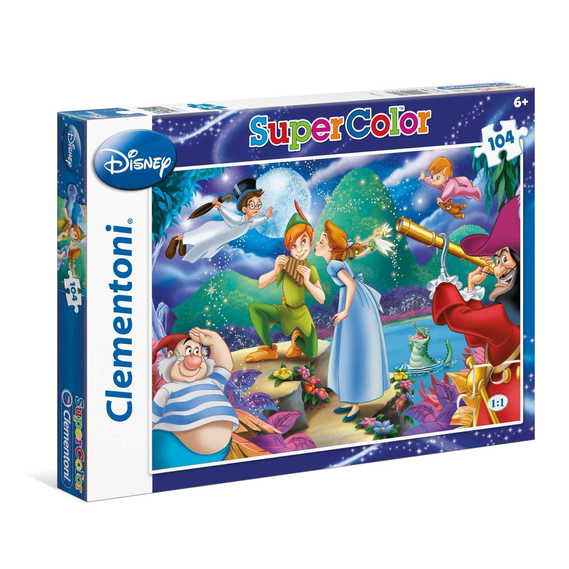 Lowest Price Clementoni 104Pcs Disney Peter Pan Jigsaw Puzzle
