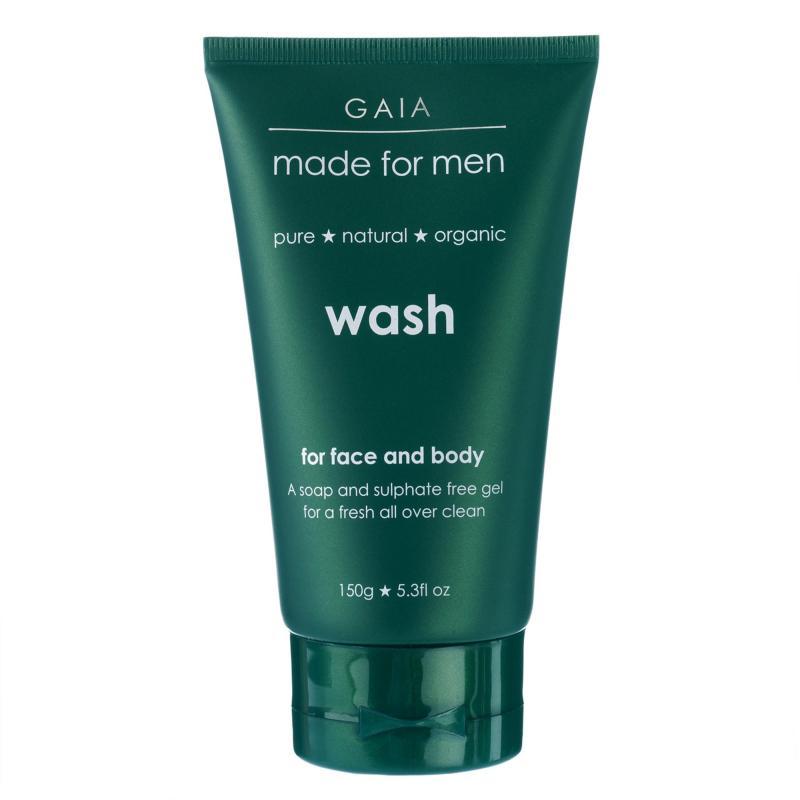 Buy Gaia Men Face & Body Wash 150g Singapore