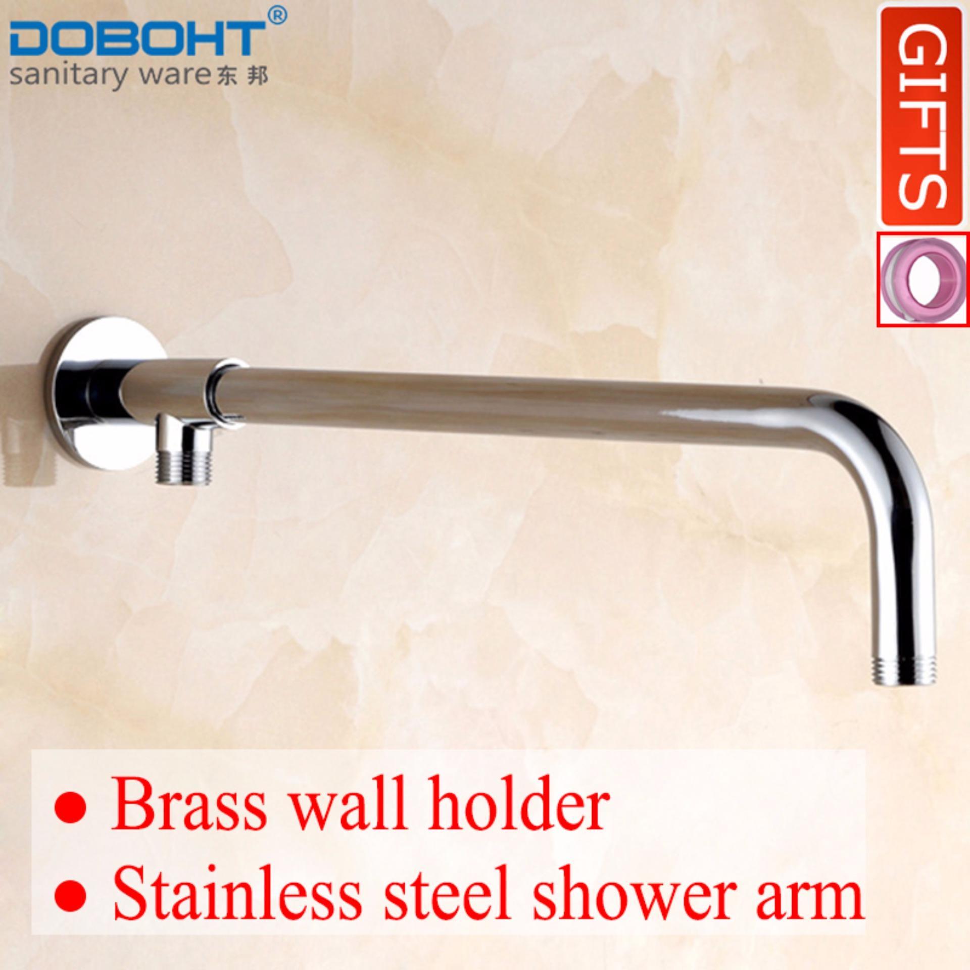 Sale Doboht Stainless Steel Bathroom Home 40Cm Shower Head Arms Chrome Export Doboht Original