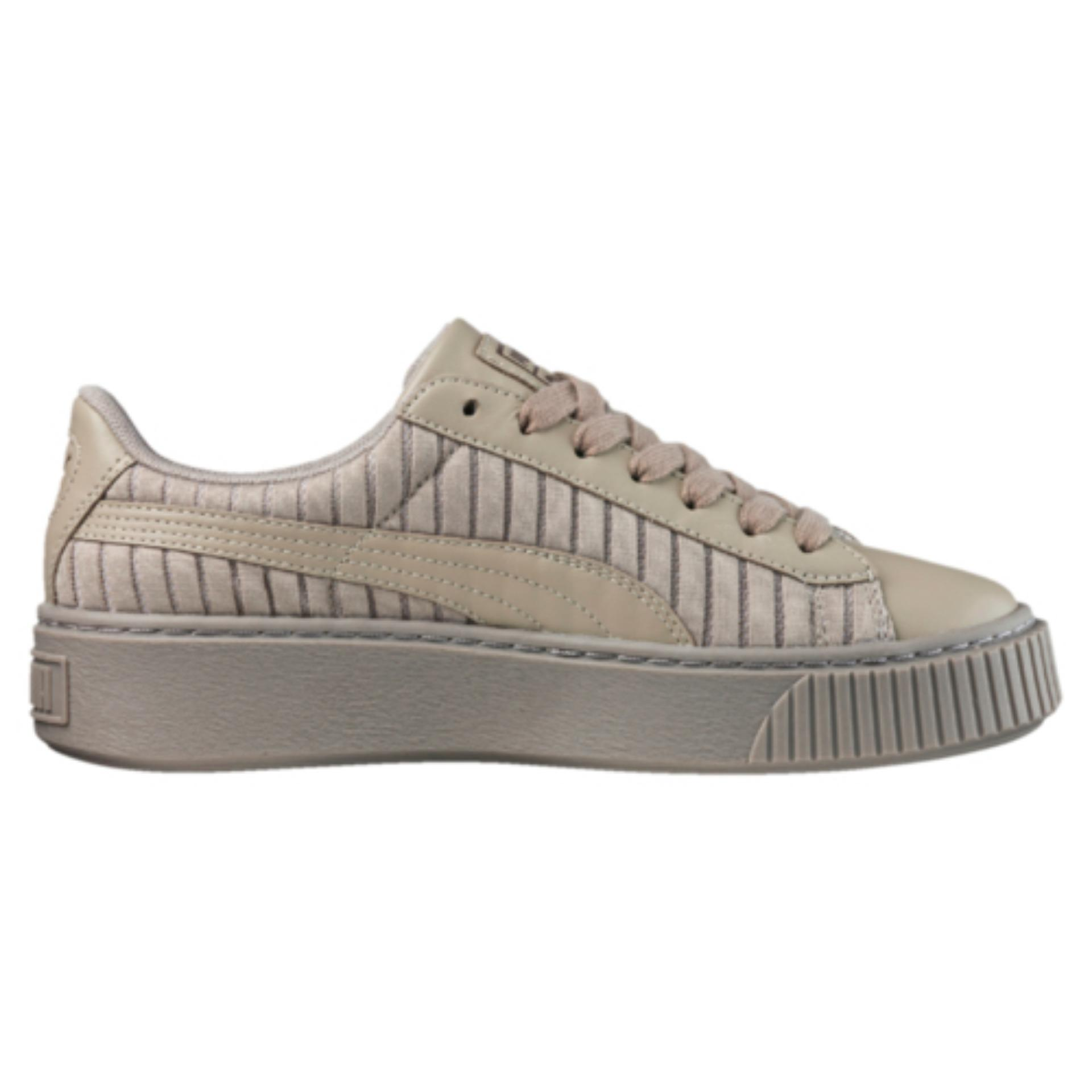 Puma Basket Platform EP Women Sneakers - Rock Ridge fc4a79e7f