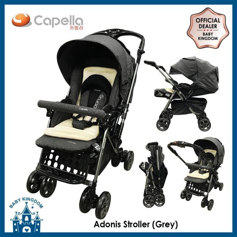 Capella - Adonis-T Stroller 2018 (Grey/ Wine) Singapore