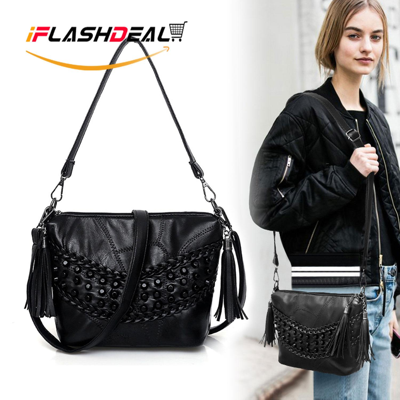 4d610d25926 iFlashDeal Sling Bag Handbags Women Crossbody Shoulder Bags Soft PU Leather  Messenger Cross Body Bags