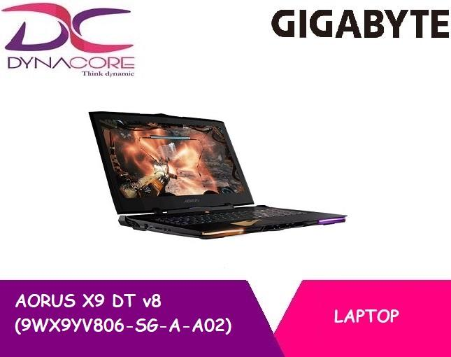 [Brand New] Gigabyte AORUS X9 DT v8 (9WX9YV806-SG-A-A02) GAMING NOTEBOOK