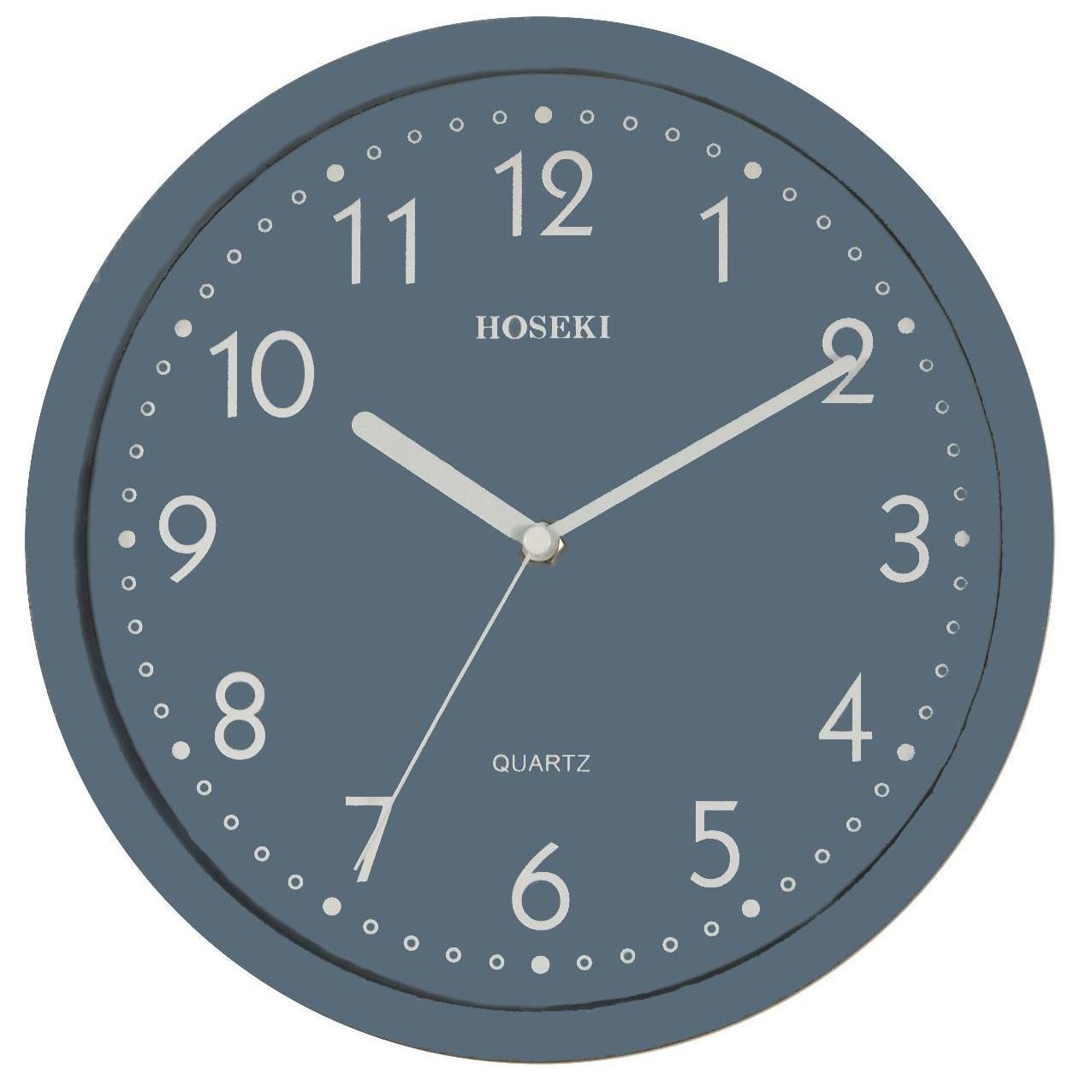 H-9317 Grey Wall Clock