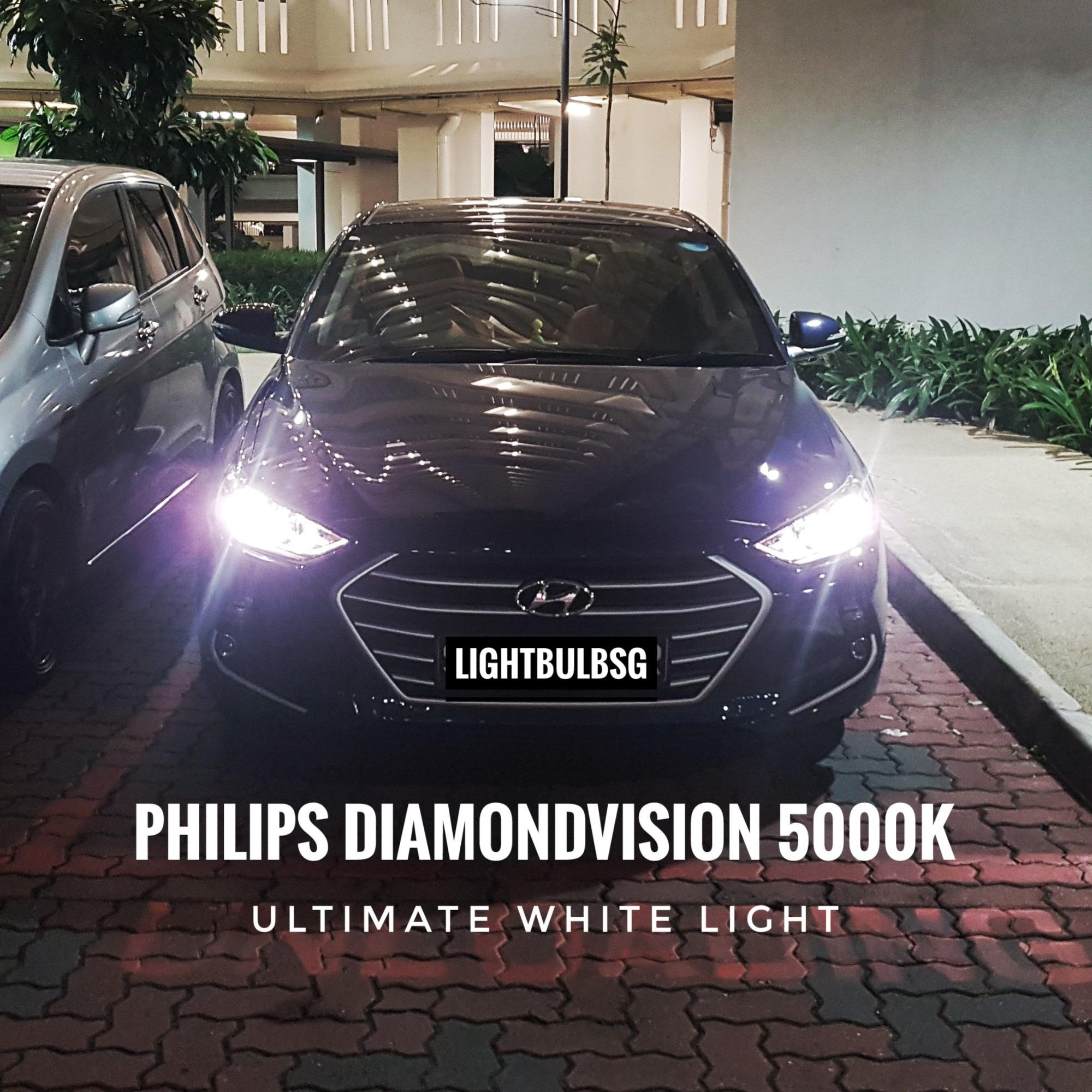 How To Buy Hb3 9005 Philips Diamondvision 5000K Headlight Headlamp For Cars And Motorcycles White Lights