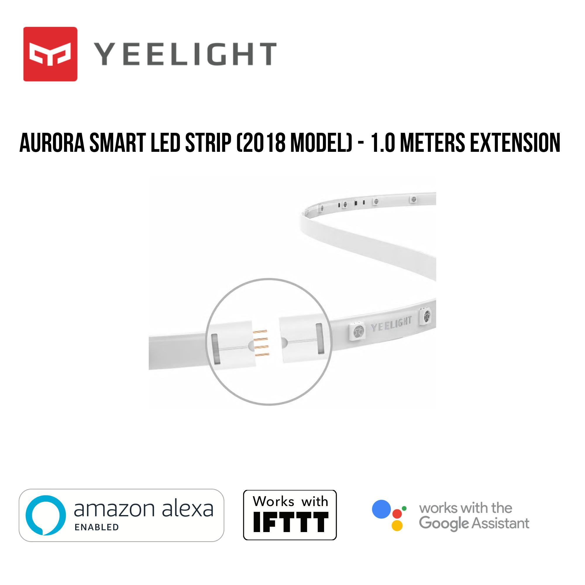 Yeelight Aurora Smart LED Lightstrip Extension - 1.0 Meters Singapore
