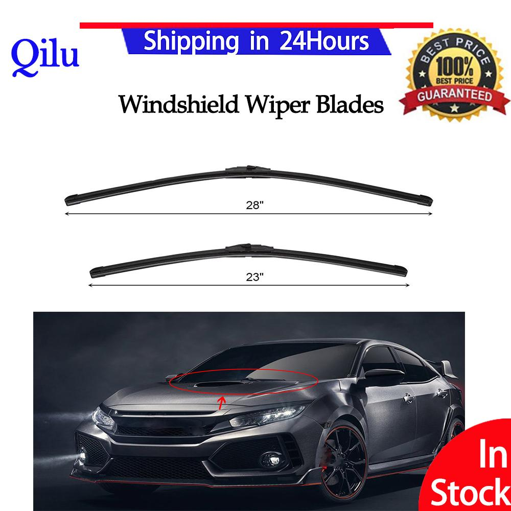 1 Pair Car Front Windscreen Windshield Wiper Blades Set For Honda Civic 2006-2011 28 23 - Intl By Qilu.