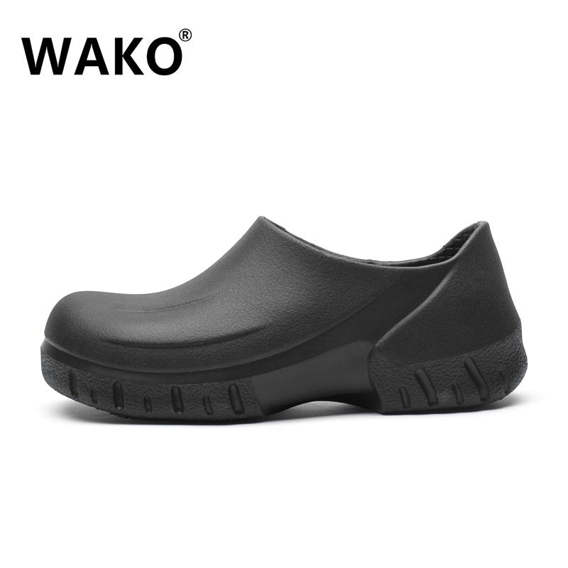f43d37316dfe Wako WAKO Non-Slip Shoes Chef Shoes Kitchen Work Shoes Waterproof Oil  Resistant Only Rain