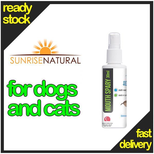 Sunrise Natural / Adorepet Mouth Spray (bundle Of 3) >>>usual $ 19/ Bottle By Kkdoggiehaven.