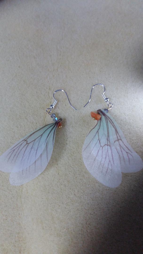 925 Sterling Silver Dragonfly Swarovski Crystal Semi Precious Stone Handmade Earrings Price Comparison