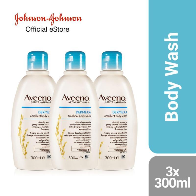 Buy Aveeno Dermexa Body Wash 300ml x 3 Singapore