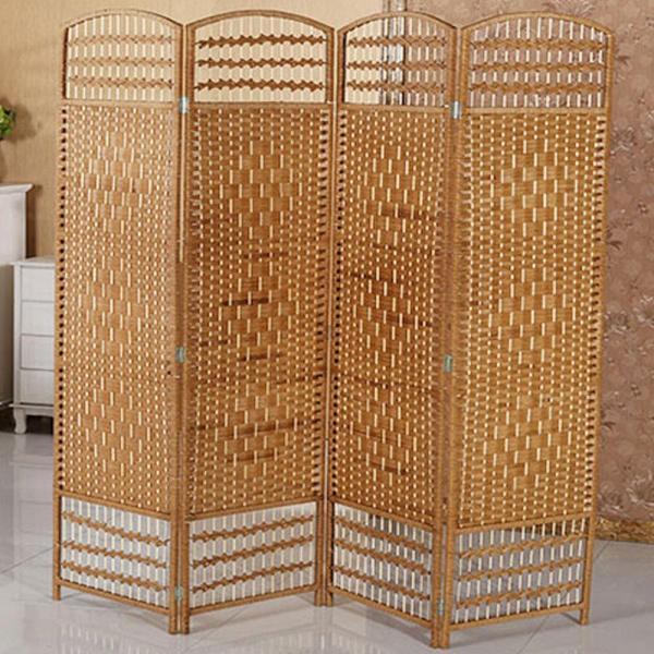 (JIJI SG) 180 x 200 CLASSIC PORTABLE ROOM DIVIDER (4PC SET) ( PRE-ASSEMBLED )