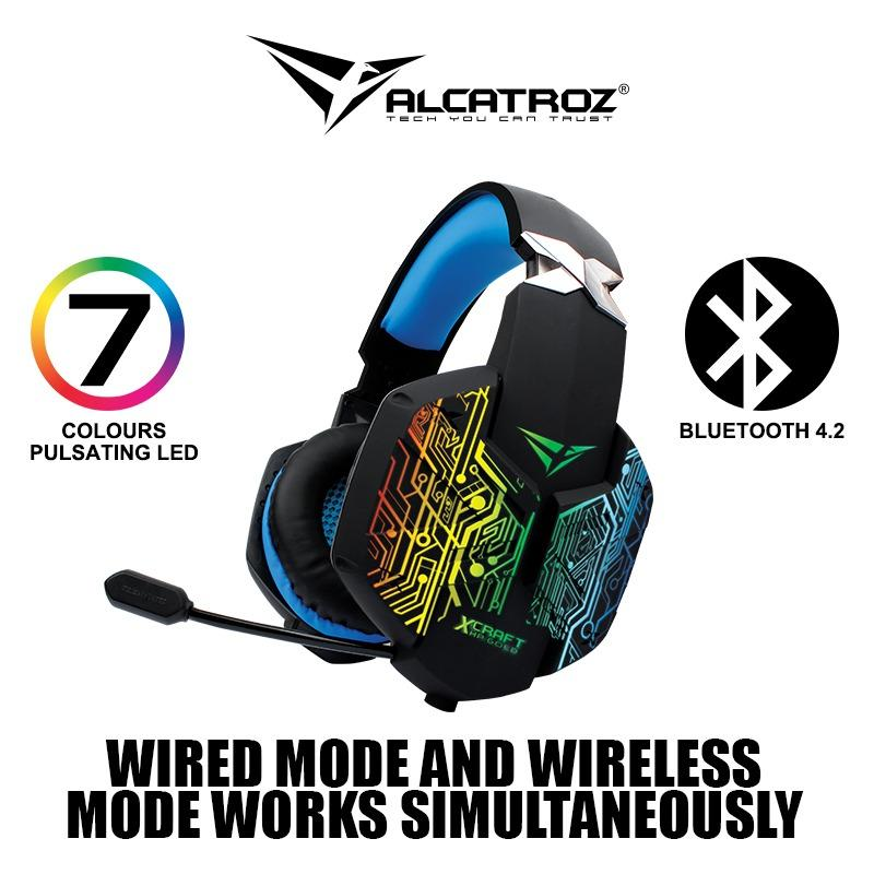 X-Craft HP Gold 5000 Wireless Professional Quality Gaming Headset