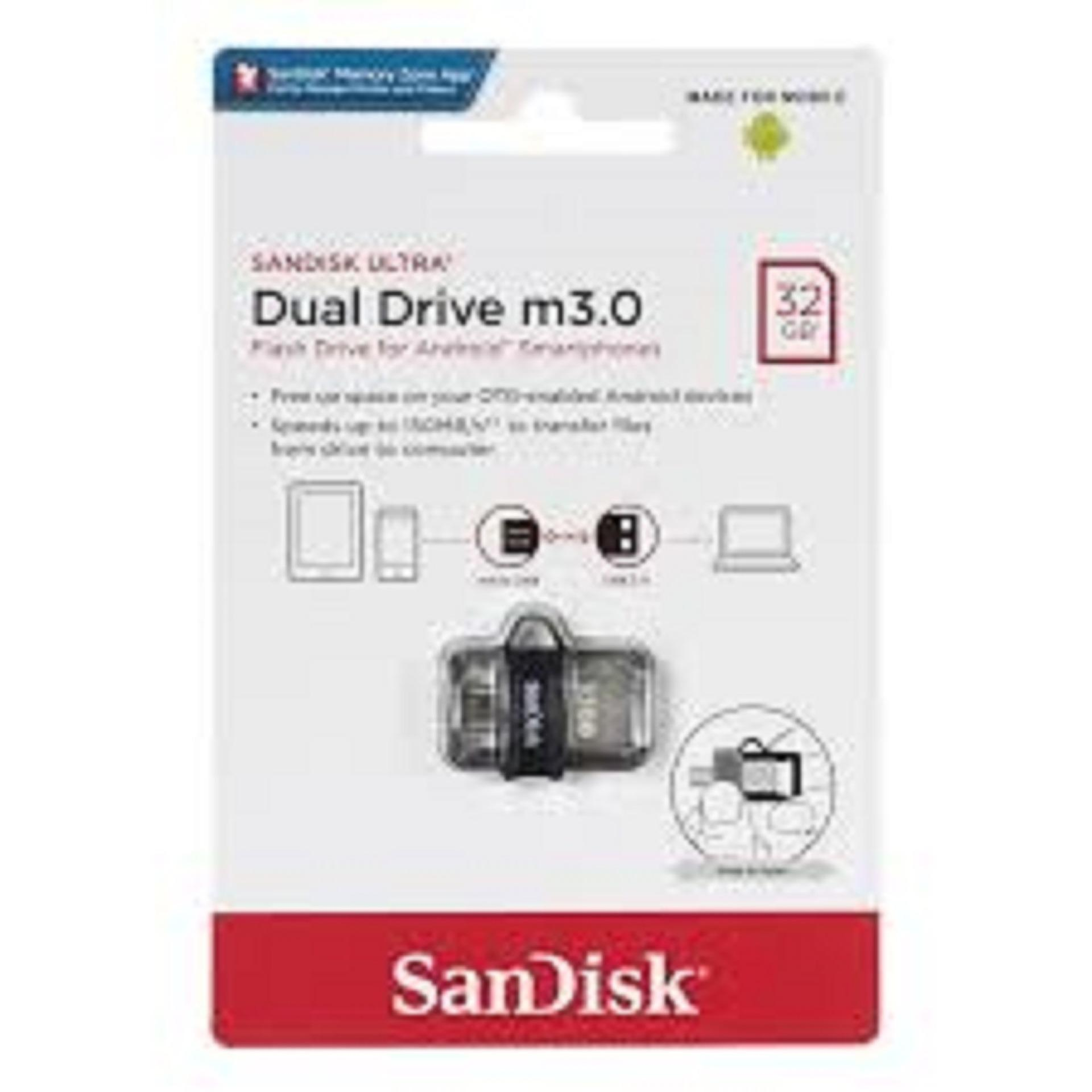 Sandisk Ultra 32gb Usb 3.0 Otg Flash Drive By Easy Topup Solutions Pte Ltd.