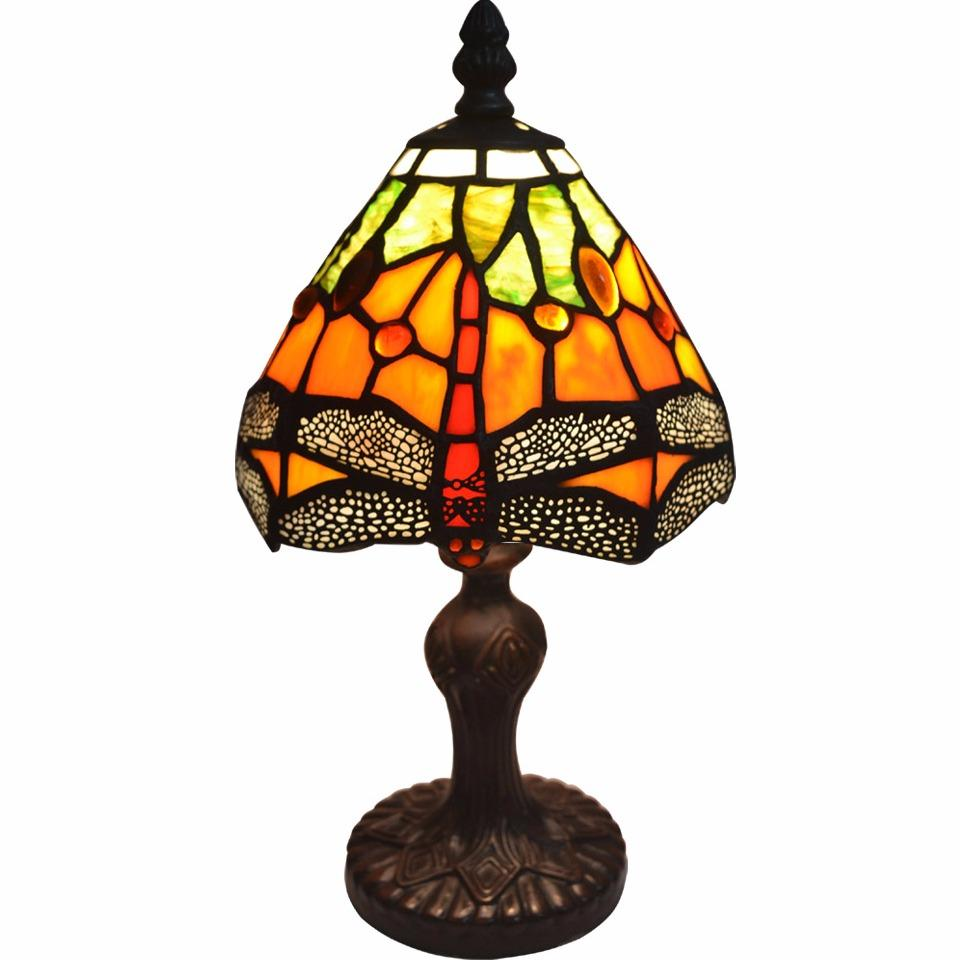 Buy 6 Inch Dragonfly Tiffany Accent Table Lamp By Timi Tree On China