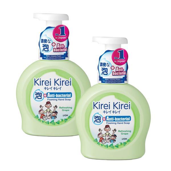 Buy Kirei Kirei Anti-Bacterial Foaming Hand Soap Refreshing Grape 450ml x 2 Singapore