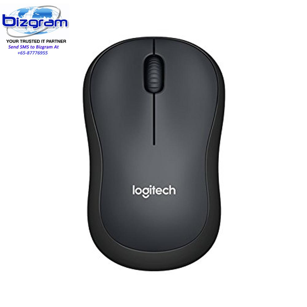 Logitech M221 Silent Wireless Mouse - Charcoal 910-004882