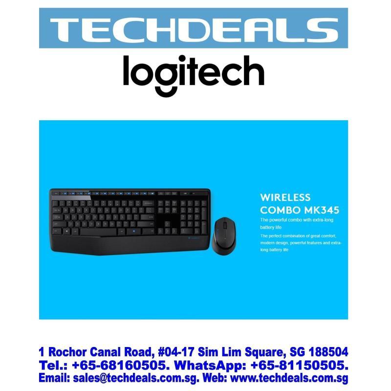 Logitech MK345 Wireless Keyboard & Mouse Combo Singapore