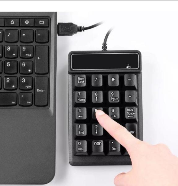 Number Keypad Keyboard Numeric Pad for Laptop Notebook