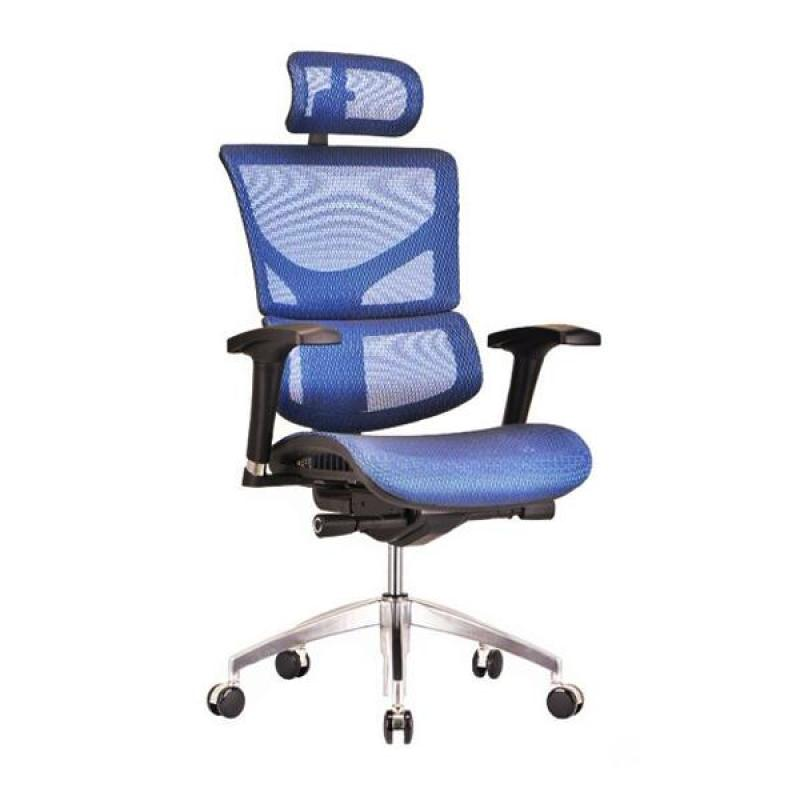 SAIL Basic Ergonomic Office Chair (Blue) Singapore