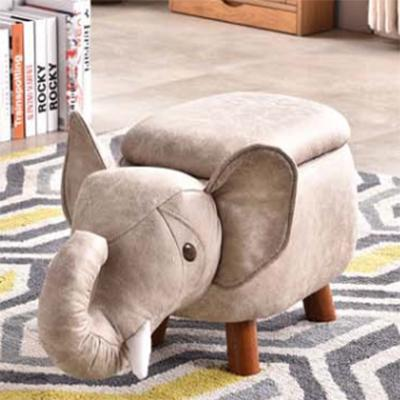 Jiji (kids Animal Ride Storage Chair Stool - Elephant W/ Storage ) / Childrens / Kids Storage / Storage Stool / Stool With Storage / Animal Stool / (sg) By Jiji.