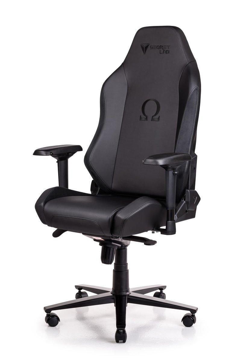 Secretlab OMEGA 2018 Series PRIME PU Leather Gaming Chair - Black (w/ Suede)