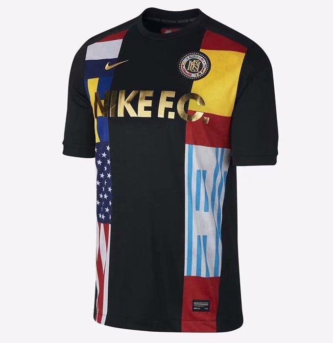 ... Nike Men FC TOP Jersey Shirt Black 886873-011 S-XL 05 famous brand ...