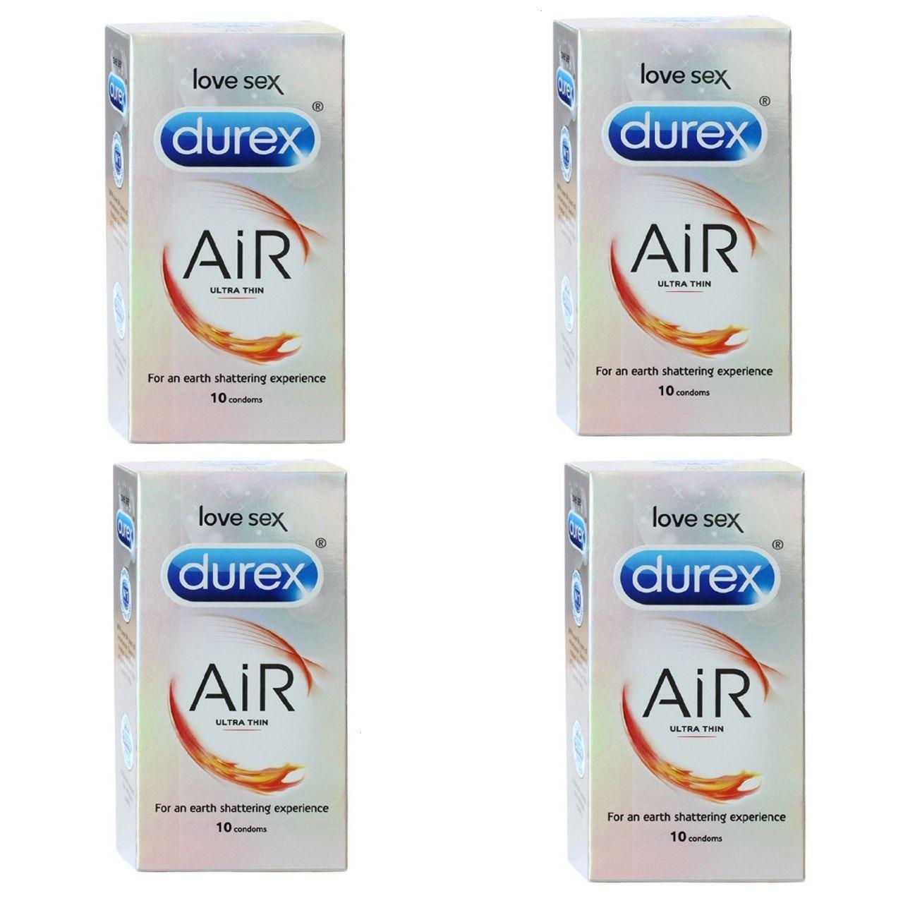 Durex Air Condoms 40 Pcs Thinnest Condoms Ever Made By Durex Price Comparison