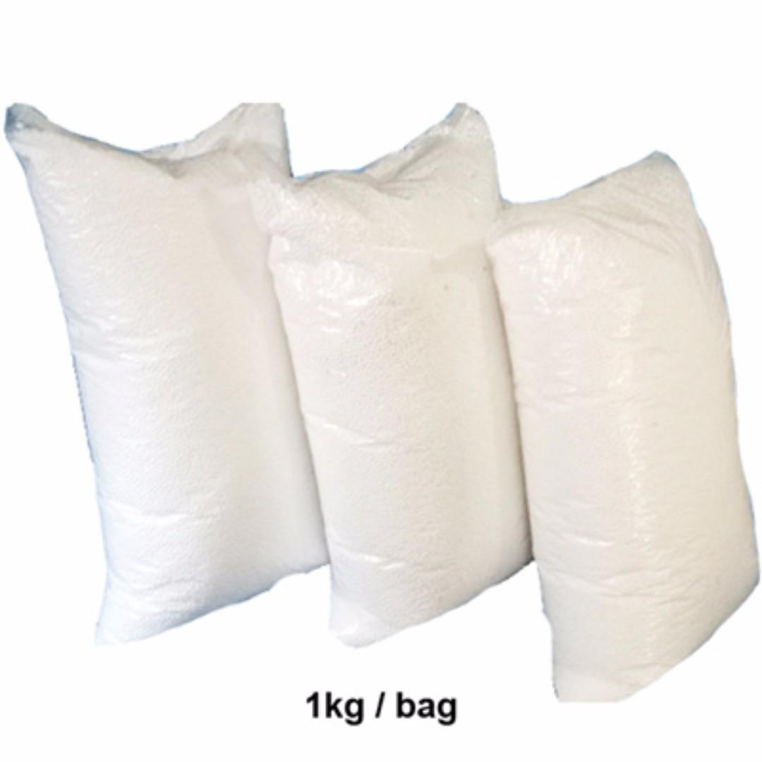 2 bags of 1kg bean bag refill