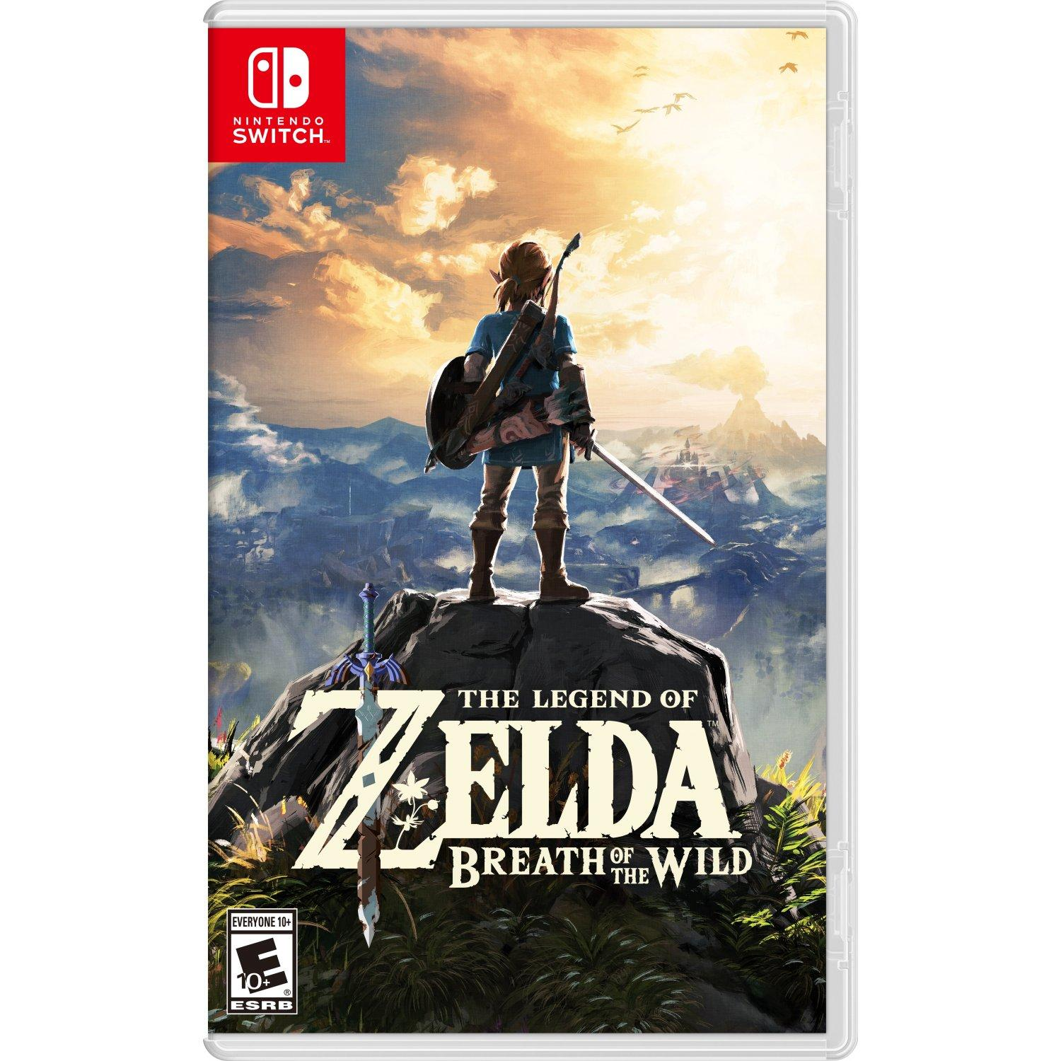 Nintendo Switch The Legend of Zelda: Breath of the Wild- AS (R3)