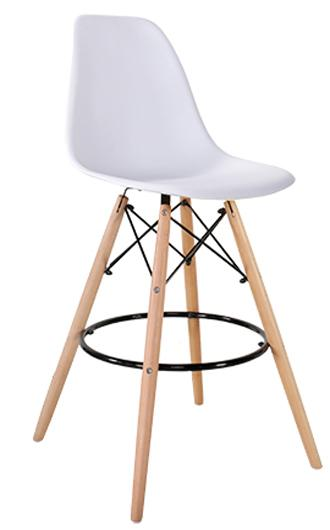 JIJI (Free Installation) (Eames High Chair Stool (70cm)) / Bar Chairs / Bar Stools / high chair /Designer dining Chair /Bar high chair/ Furniture Chair  Free 12 Months Warranty (SG)
