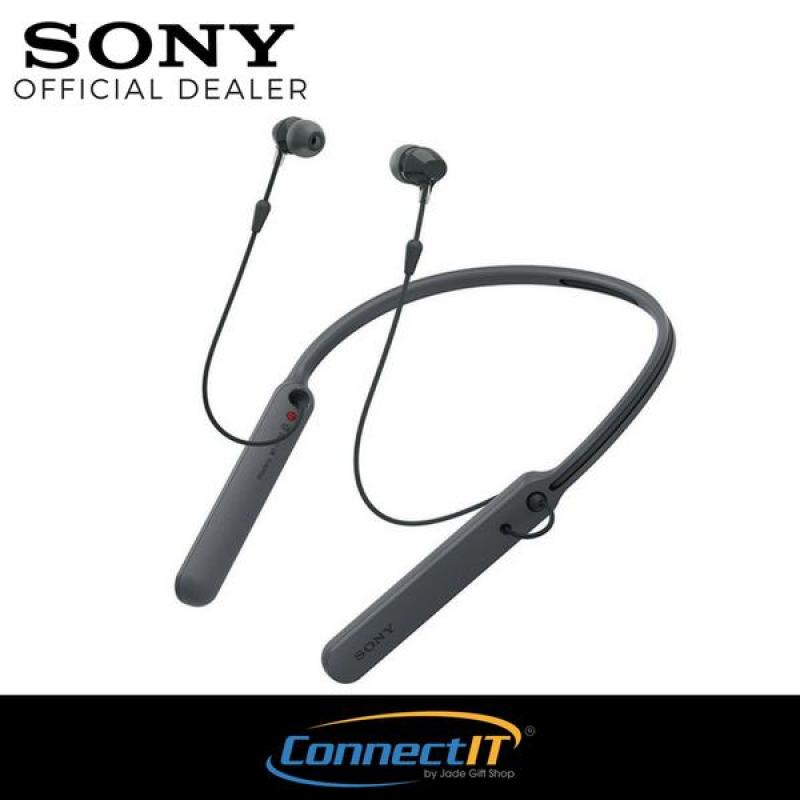 Sony Singapore WI-C400 Wireless Bluetooth In-Ear Earphones (Black) Singapore