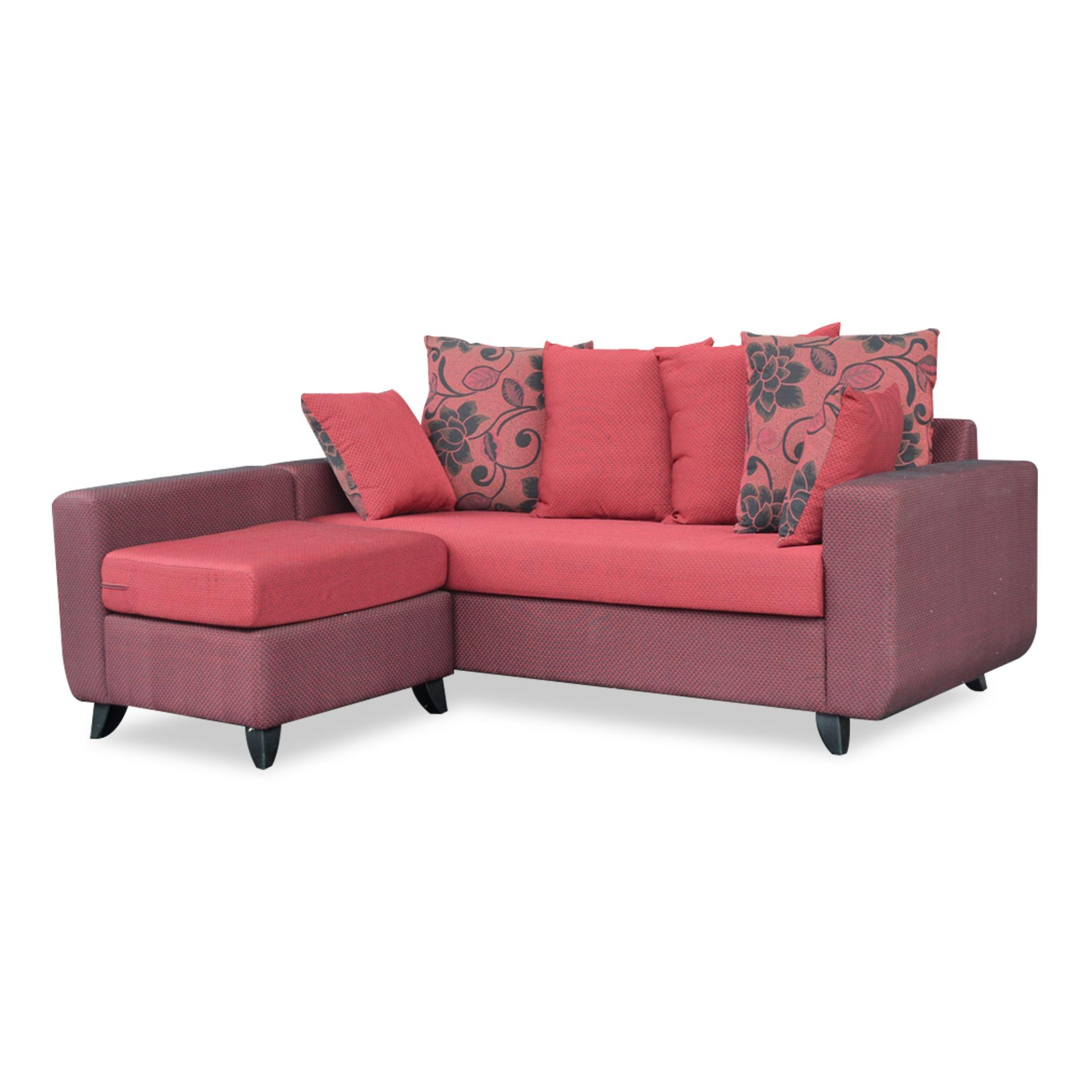 Dafne 3 Seater Sofa With Stool (FREE DELIVERY)(FREE ASSEMBLY)