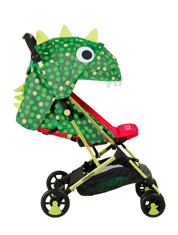 Cosatto Woosh Stroller - Dino Mighty (No Front Bar) Singapore