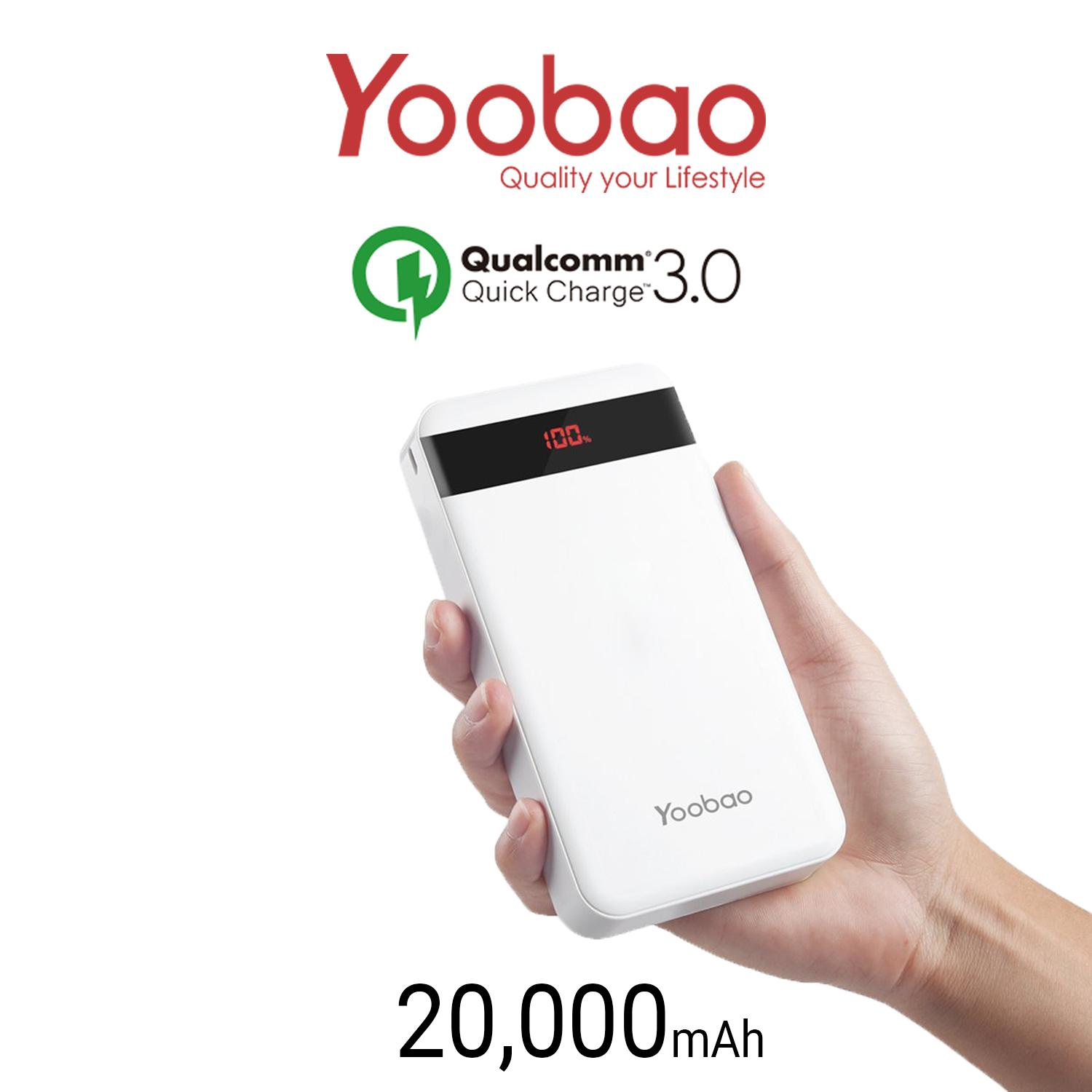 Yoobao M20Q Quick Charge 20 000Mah Powerbank For Sale Online