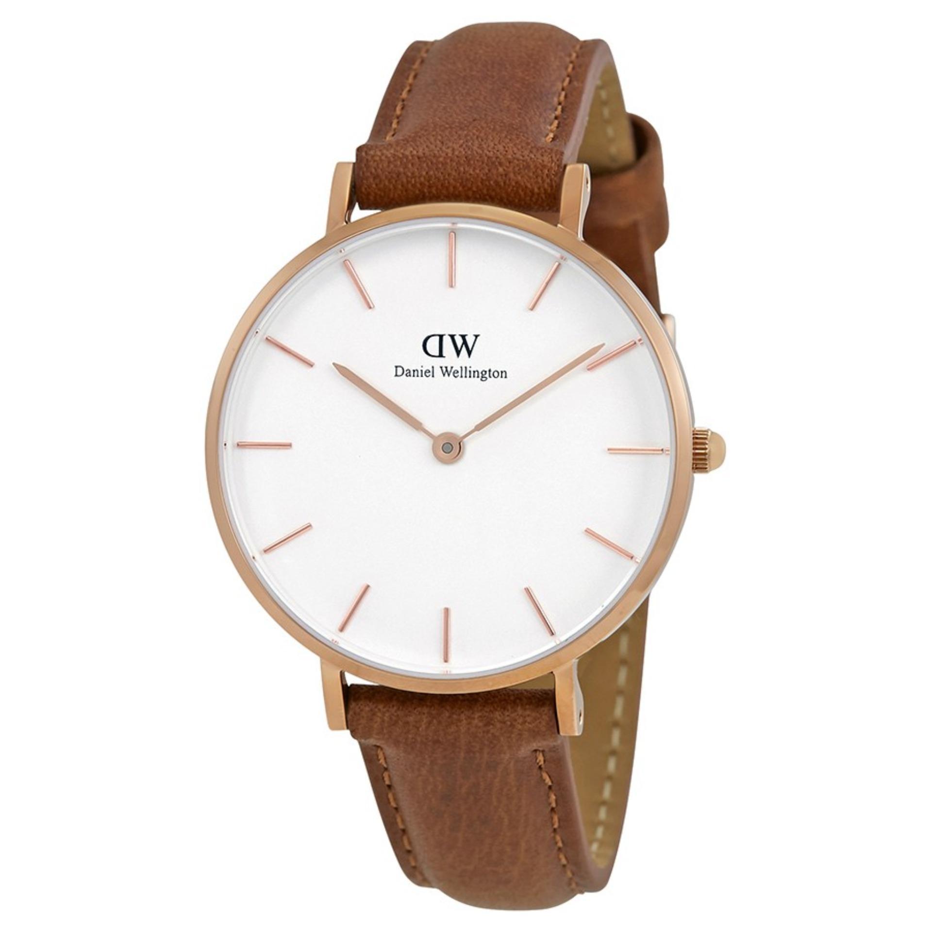 bc5af8a2257 Daniel Wellington Ladies Classic Petite Durham 32mm Rose Gold Watch  DW00100172