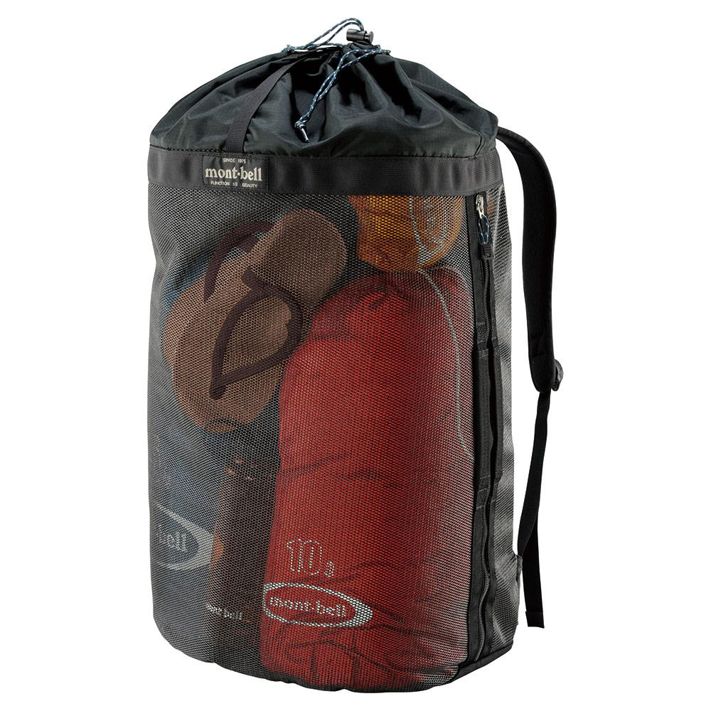 Montbell Japan Mesh Gear Backpack Outdoor Water Activity Kayak 50 Litres By X-Boundaries.