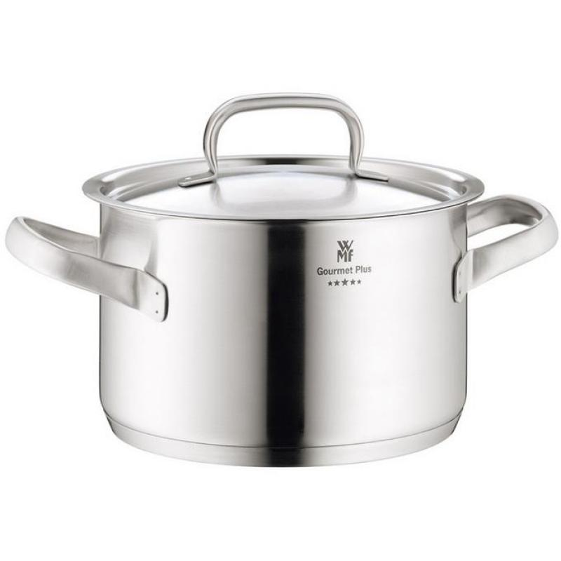 Germany WMF Gourmet plus Five Stars Stainless Steel Big Stew Pot Stewing Pot Stew-pan Steel Band Cover Singapore