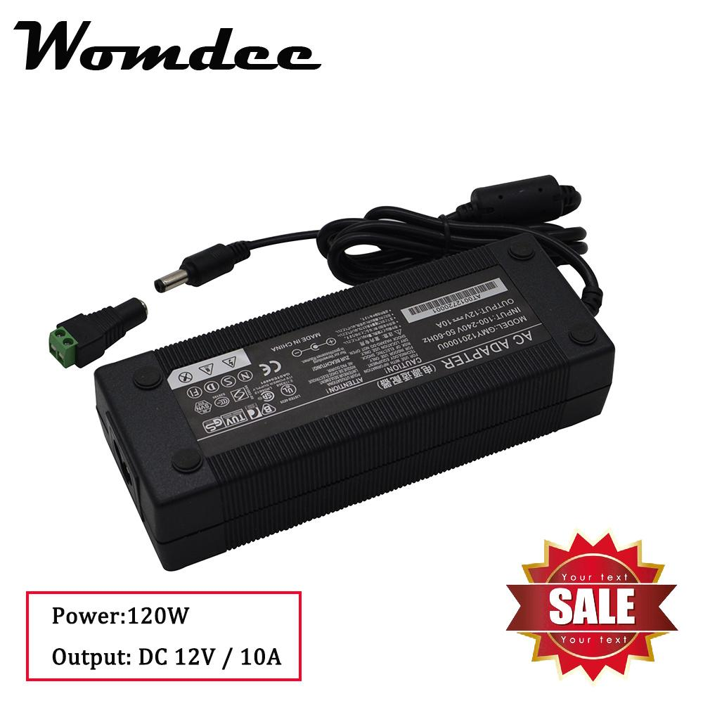 Buy Laptop Adapters Ac Cord Lazada To Charge A From Car Battery Using Dc Charger Circuit Womdee 120w 12v 10a 3round Pin Power Supply 55x21mm