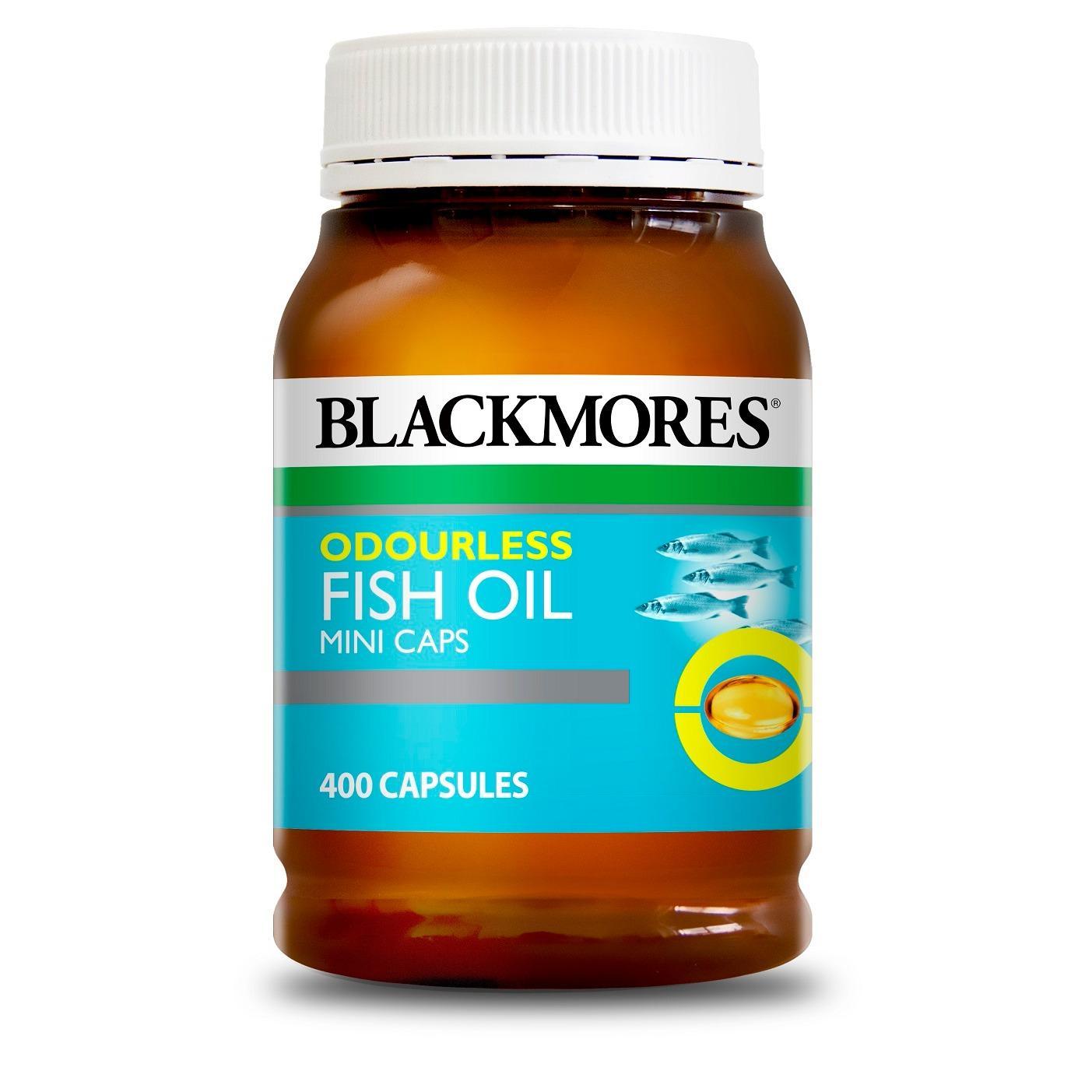 Best Reviews Of Blackmores Odourless Fish Oil 400 Mini Capsules