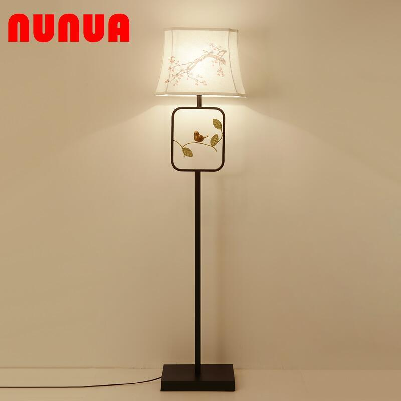 Modern Chinese-style living room led library floor lamp