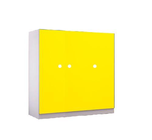 JIJI (Free Installation) (3 Door Modern Wardrobe) / Kids / Children Wardrobe / Single Color / Modern Wardrobe / 12 Month Warranty / (SG)