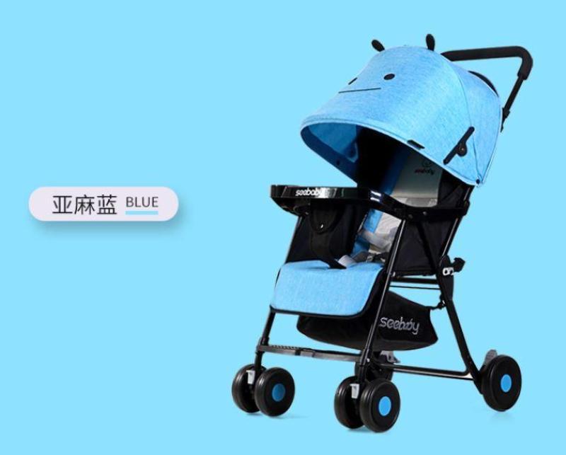 Seebaby QQ3 Lightweight Stroller (blue Little Bee) Singapore